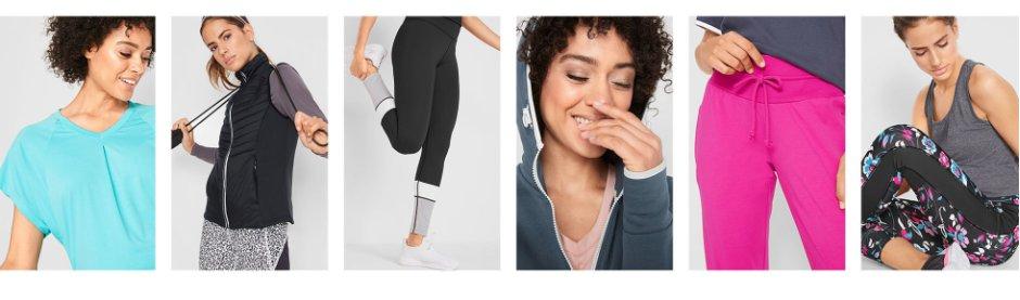 Damen - Mode - Sportbekleidung - Sportshirts