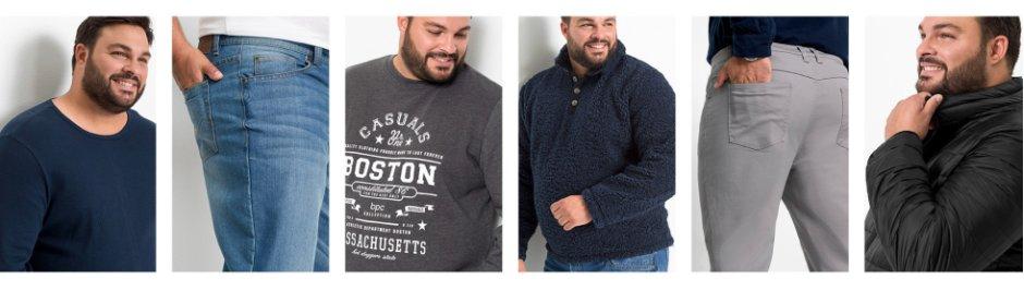 Herren - Große Größen - Mode - Shirts & Polos