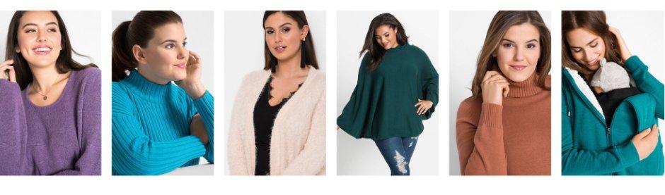 Damen - Große Größen - Mode  - Pullover & Strickjacken - Pullover