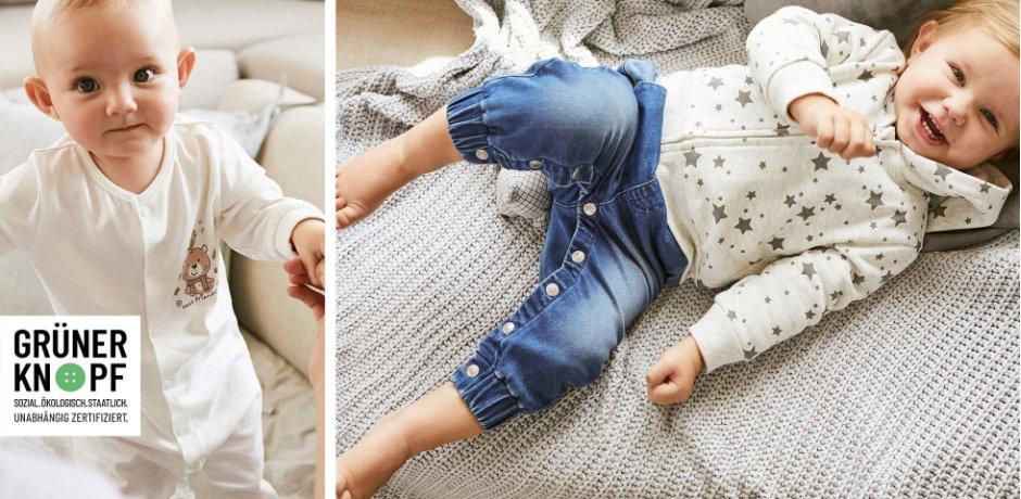 Kinder - Nachhaltigkeit - Nachhaltige Mode - Babys