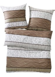 Bettwäsche mit Streifen, bpc living bonprix collection