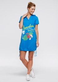 Beach-Kleid, bpc bonprix collection, meeresblau
