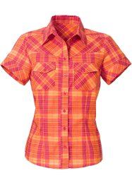 Bluse, bpc bonprix collection, himbeere/orange