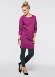 Sweatkleid, bpc bonprix collection, anthrazit meliert
