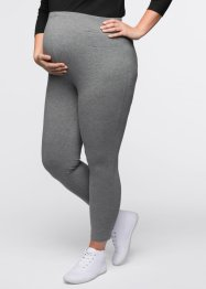 Umstandsleggings, bpc bonprix collection, grau meliert