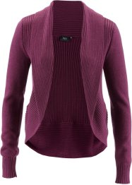 Strickjacke, bpc bonprix collection, beere