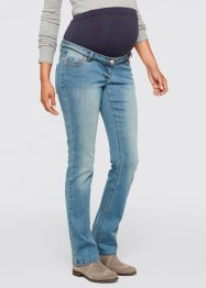 Umstandsjeans, Mini-Bootcut, bpc bonprix collection, medium blue bleached