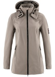 Veste softshell extensible, bpc bonprix collection, taupe