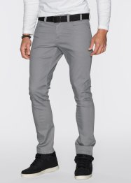 Stretch-Hose Slim Fit Straight, RAINBOW, grau
