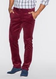 Pantalon en velours côtelé Slim Fit, bpc bonprix collection, noir