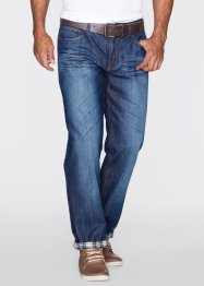 Thermo-Jeans Regular Fit Straight, John Baner JEANSWEAR, dunkelblau