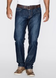 "Jean ""Étanche"" Regular Fit Straight, John Baner JEANSWEAR, bleu"
