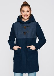 Dufflecoat mit Kapuze, bpc bonprix collection, dunkelblau