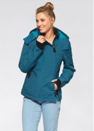 Funktions-Outdoorjacke, bpc bonprix collection, ozeanblau