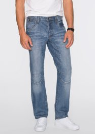 Jeans Regular Fit Straight, RAINBOW, medium blue bleached
