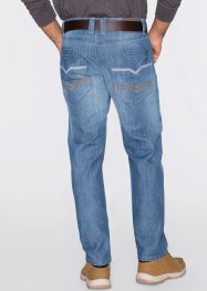 Jeans Regular Fit Straight, John Baner JEANSWEAR, mittelblau