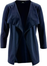 Shirtjacke, bpc bonprix collection, dunkelblau