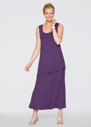 Kleid, bpc bonprix collection, weinbeere
