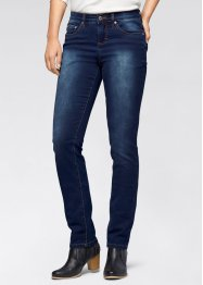 Power-Stretch-Jeans Straight, John Baner JEANSWEAR, dunkelblau