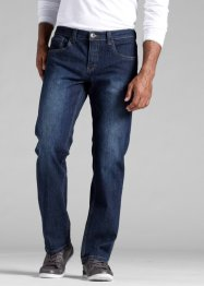 Stretch-Jeans Regular Fit Straight, John Baner JEANSWEAR, dunkelblau