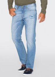 Jeans Regular Fit Straight, John Baner JEANSWEAR, mittelblau used