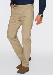 Chinos, normal passform, raka ben, bpc bonprix collection, svart