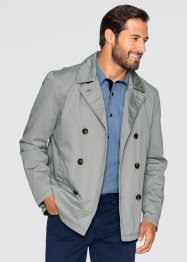 Caban-Jacke Regular Fit, bpc bonprix collection, neutralgrau
