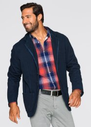 Veste de costume en sweat Regular Fit, bpc bonprix collection, bleu foncé
