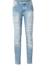 Skinny Jeans, RAINBOW,  blue bleached