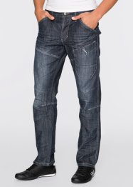 Jeans Regular Fit Straight, RAINBOW, dark denim used