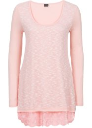 Shirt in Strickoptik, BODYFLIRT, pink