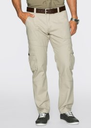 Pantalon cargo Regular Fit, bpc bonprix collection, gris