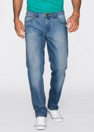 "Jeans ""Cool Max"" Regular Fit Straight, John Baner JEANSWEAR, mittelblau used"