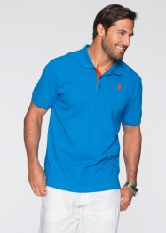 Poloshirt Regular Fit, bpc bonprix collection, capriblau
