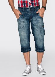 3/4-Jeans Regular Fit Straight, John Baner JEANSWEAR, blau used