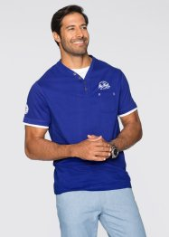 T-Shirt Regular Fit, bpc bonprix collection, saphirblau