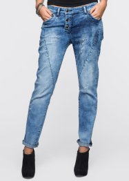 Boyfriend Jeans, RAINBOW, blue stone moonwash
