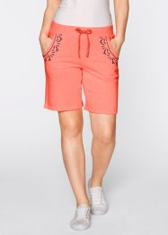 Sweat bermuda, bpc bonprix collection, neon somon rengi