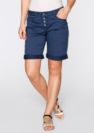 Boyfriend Kesimli Bermuda, bpc bonprix collection, indigo