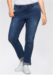 Stretchjeans, CLASSIC, 7/8, John Baner JEANSWEAR, blå