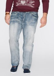 Jeans Regular Fit Straight, John Baner JEANSWEAR, blau used
