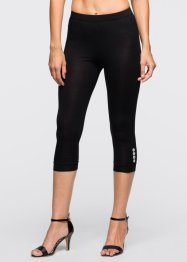 Leggings, BODYFLIRT, dunkellila