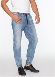Schlupf-Jeans im Slim Fit Straight, RAINBOW, blau