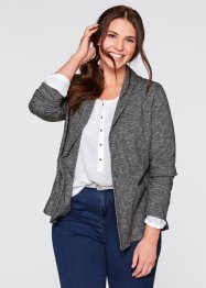 Sweat Blazer Ceket, bpc bonprix collection, gri