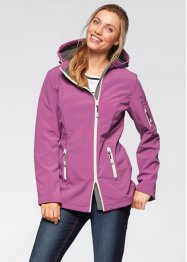 Softshell-Jacke, bpc bonprix collection, mattbrombeer