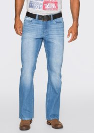 Jeans Regular Fit Bootcut, John Baner JEANSWEAR, blau used