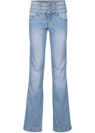 "Stretch-Jeans ""Bauch- Beine- Po"" in Super-Stretch-Material, BOOTCUT, John Baner JEANSWEAR, hellblau"