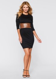 Shirtkleid, BODYFLIRT boutique, schwarz
