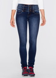 "Stretch-Jeans ""Bauch-Beine-Po"" in Super-Stretch-Material, SLIM, John Baner JEANSWEAR, dunkelblau"