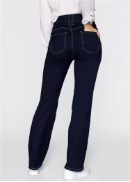 Power-Stretch-Push-Up-Jeans, Bootcut, bpc bonprix collection, dark denim